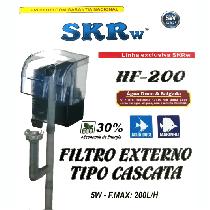 Filtro externo skrw hf-200 200l/h 127v