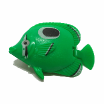 Peixe flutuante f-16 com 1 unidade (verde)