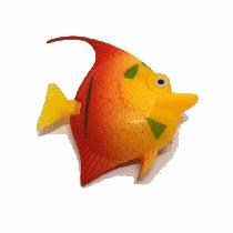 Peixe flutuante f-2 com 1 unidade (laranja/vermelho)